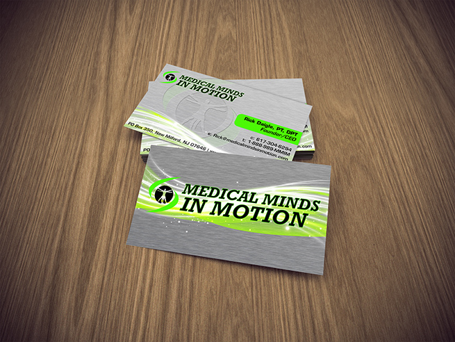Medical Minds in Motion Business Card