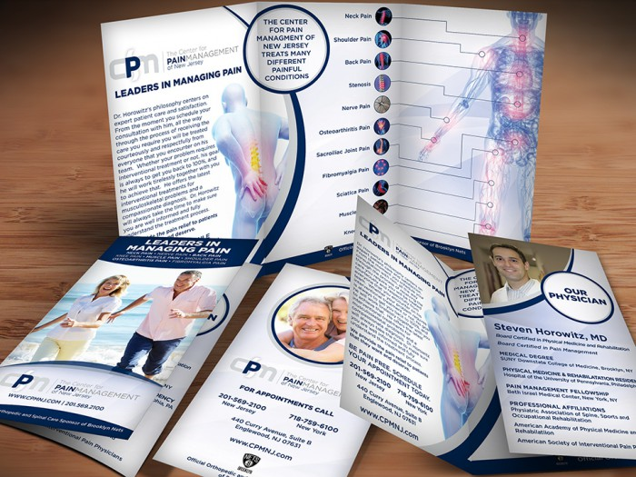 Center For Pain Management of New Jersey Brochure