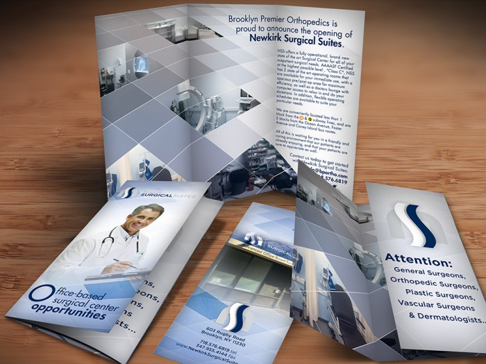 Office Based Surgery Brochure Design