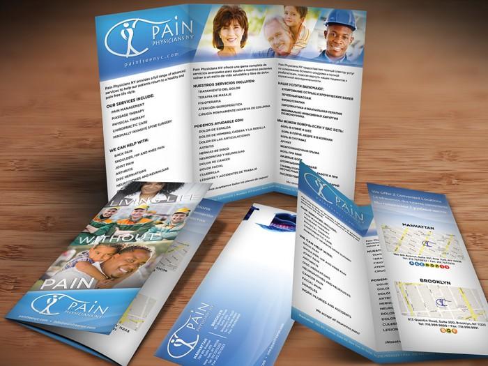 Pain Management Mailer Design