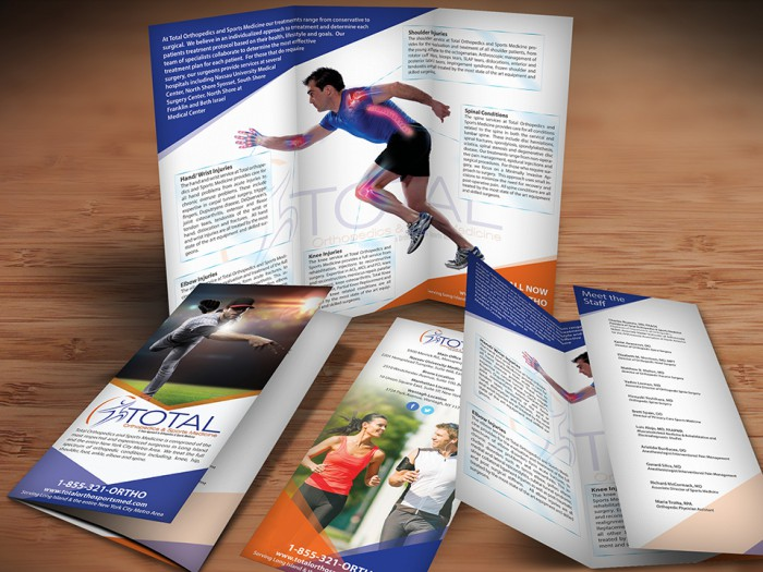 Orthopedic Brochure Design