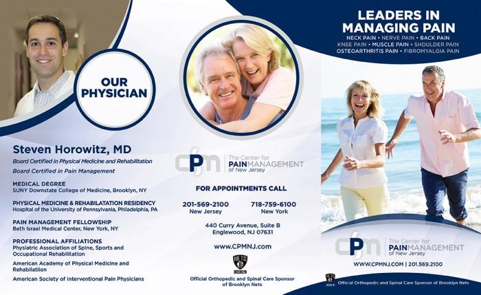 center for pain management brochure