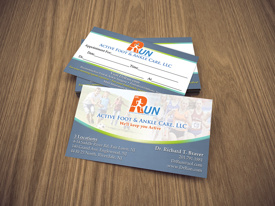 How to Design the Perfect Business Card for Your Medical Practice ...