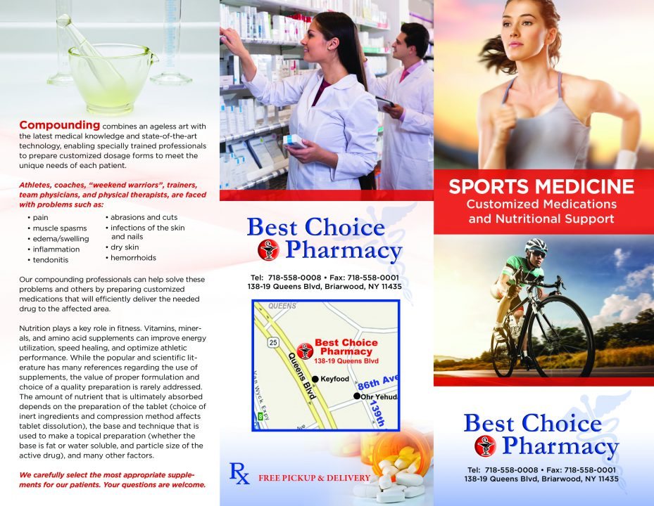 Sports Medicine Brochure