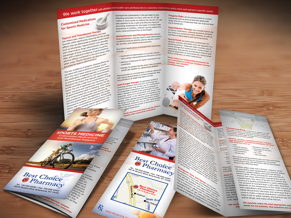 physical therapy brochure design