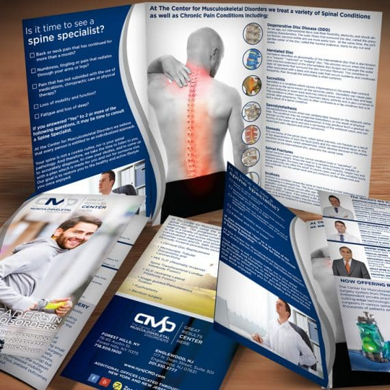 Spinal Conditions Brochure Design