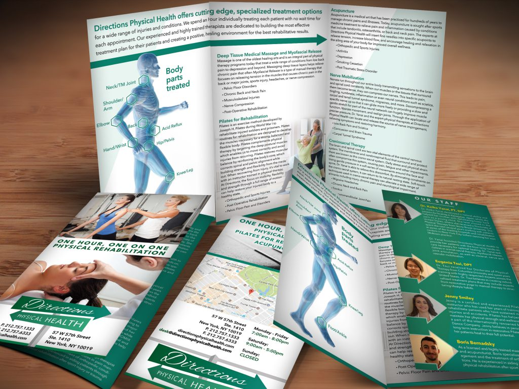 Physical Therapy and Acupuncture Brochure