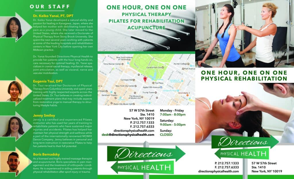 Physical Therapy Brochure Design | Graphics for Doctors